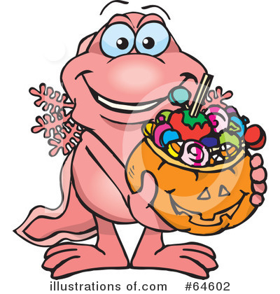 Trick Or Treating Clipart #64602 by Dennis Holmes Designs