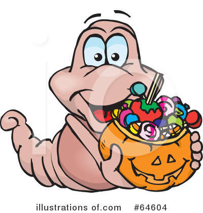 Trick Or Treating Clipart #64604 by Dennis Holmes Designs