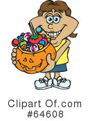 Trick Or Treating Clipart #64608