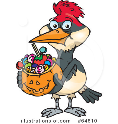 Trick Or Treating Clipart #64610 by Dennis Holmes Designs