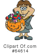 Trick Or Treating Clipart #64614