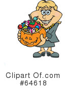 Trick Or Treating Clipart #64618