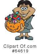 Trick Or Treating Clipart #64619