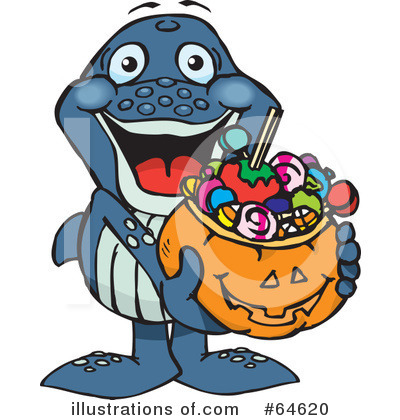 Trick Or Treating Clipart #64620 by Dennis Holmes Designs