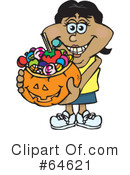 Trick Or Treating Clipart #64621