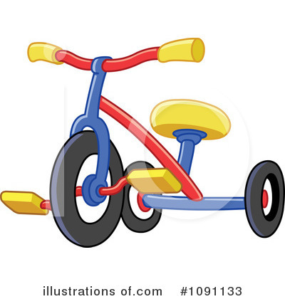 Bicycle Clipart #1091133 by yayayoyo