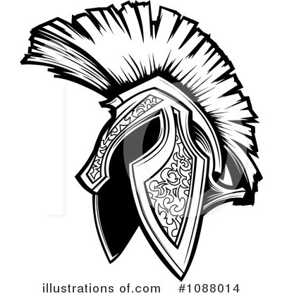 Spartan Clipart #1088014 by Chromaco