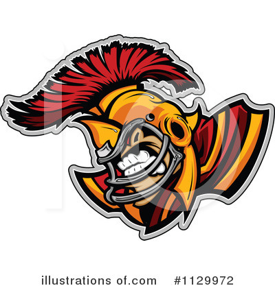 Football Clipart #1129972 by Chromaco
