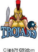 Trojans Clipart #1716598 by AtStockIllustration