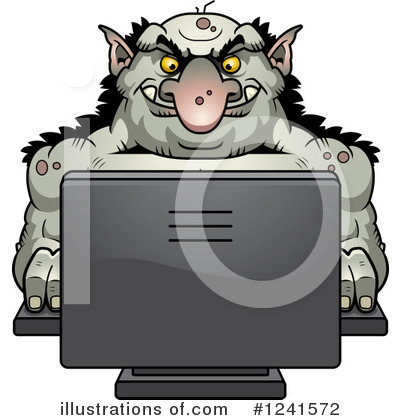 Troll Clipart #1241572 by Cory Thoman