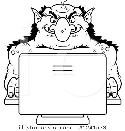 Computer Clipart #1241573 by Cory Thoman