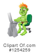 Royalty-Free (RF) Troll Clipart Illustration #1254259
