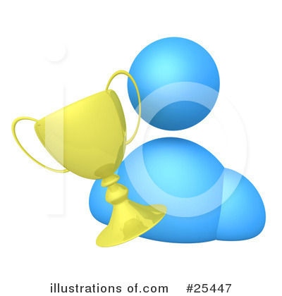 First Place Clipart #25447 by 3poD