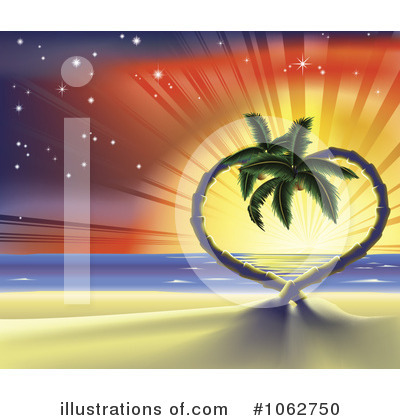 Beach Clipart #1062750 by AtStockIllustration