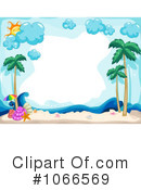Tropical Beach Clipart #1066569
