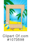 Tropical Beach Clipart #1073598