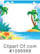 Tropical Beach Clipart #1096968