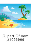 Tropical Beach Clipart #1096969 by visekart