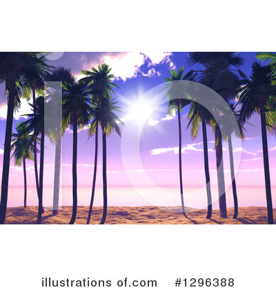 Beach Clipart #1296388 by KJ Pargeter