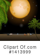 Royalty-Free (RF) Tropical Clipart Illustration #1413999