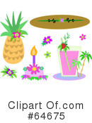 Royalty-Free (RF) Tropical Clipart Illustration #64675