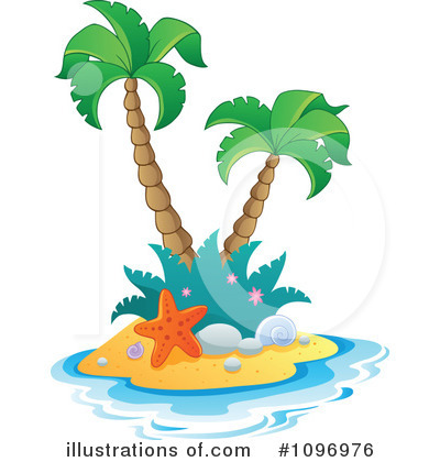 Island Clipart #1096976 by visekart