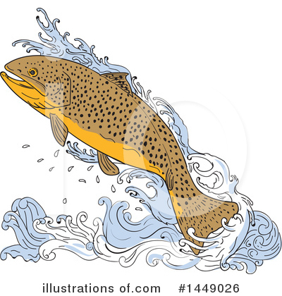 Fish Clipart #1449026 by patrimonio