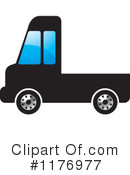 Truck Clipart #1176977 by Lal Perera
