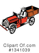 Royalty-Free (RF) Truck Clipart Illustration #1341039