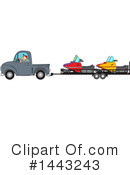 Royalty-Free (RF) Truck Clipart Illustration #1443243