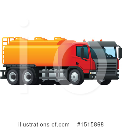 Truck Clipart #1515868 by Vector Tradition SM