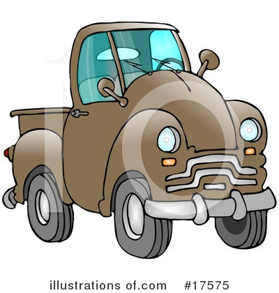 Pickup Clipart #17575 by djart