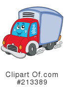 Truck Clipart #213389 by visekart