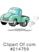 Royalty-Free (RF) truck Clipart Illustration #214759