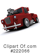 Royalty-Free (RF) Truck Clipart Illustration #222066