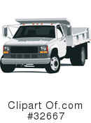 Royalty-Free (RF) truck Clipart Illustration #32667