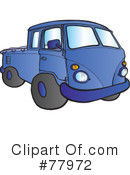 Truck Clipart #77972 by Snowy