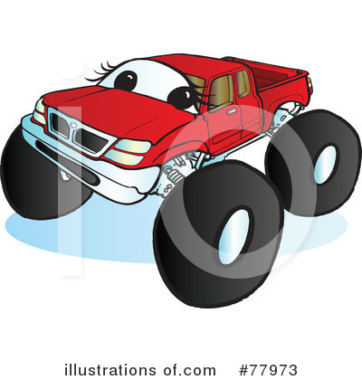 Monster Truck Clipart #77973 by Snowy