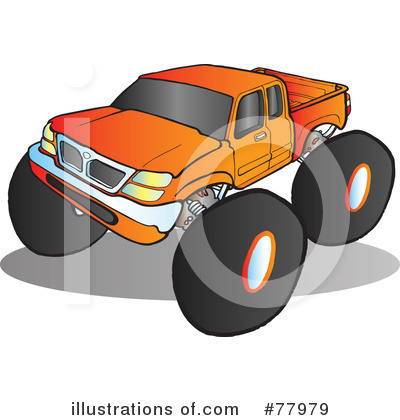 Monster Truck Clipart #77979 by Snowy