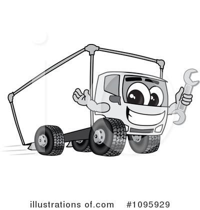 Big Rig Clipart #1095929 by Toons4Biz