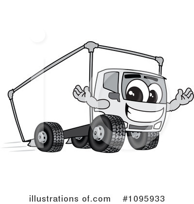 Big Rig Clipart #1095933 by Toons4Biz