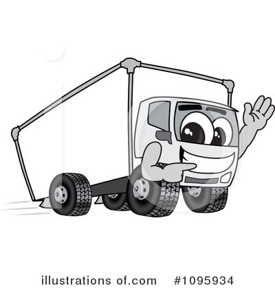 Big Rig Clipart #1095934 by Toons4Biz