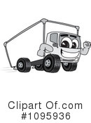 Truck Mascot Clipart #1095936 by Toons4Biz