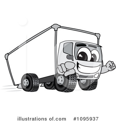 Big Rig Clipart #1095937 by Toons4Biz