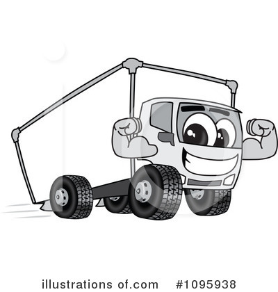 Big Rig Clipart #1095938 by Toons4Biz