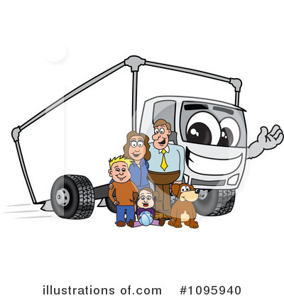 Big Rig Clipart #1095940 by Toons4Biz