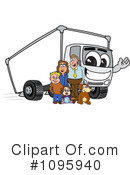Truck Mascot Clipart #1095940 by Toons4Biz