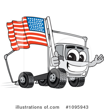 Big Rig Clipart #1095943 by Toons4Biz
