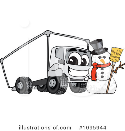 Big Rig Clipart #1095944 by Toons4Biz