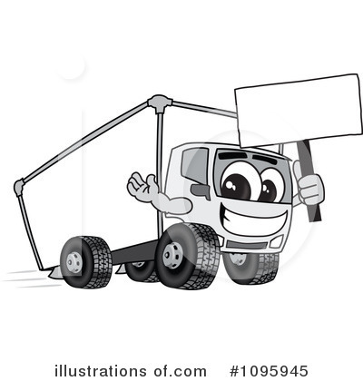 Big Rig Clipart #1095945 by Toons4Biz